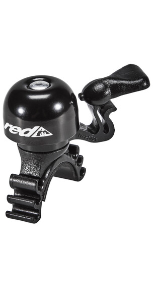Red Cycling Products Mini Bell Easy Fix Ringeklokke Svart
